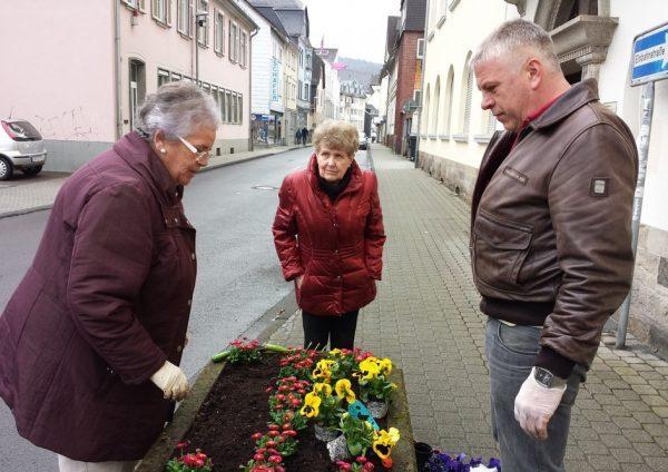 Bepflanzungsaktion der CDU-Fraktion