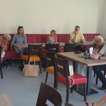 Frauenunion besichtigt umgebaustes DGH Nanzenbach