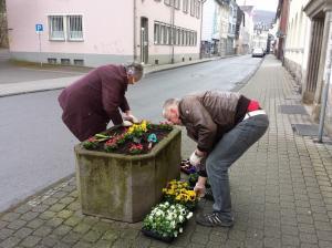 Bepflanzungsaktion der CDU-Fraktion1